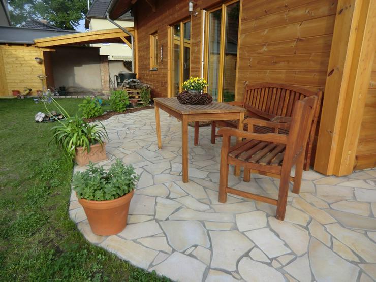 Natursteine Polygonalplatten Terrassenplatten Einfahrt Fassade Neu - Pflastersteine - Bild 1