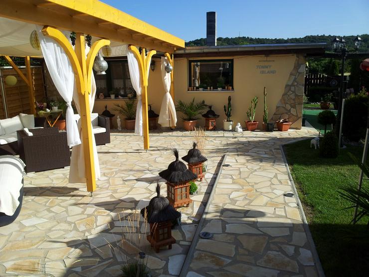 Natursteine Polygonalplatten Terrasse Einfahrt Fassade - Pflastersteine - Bild 1