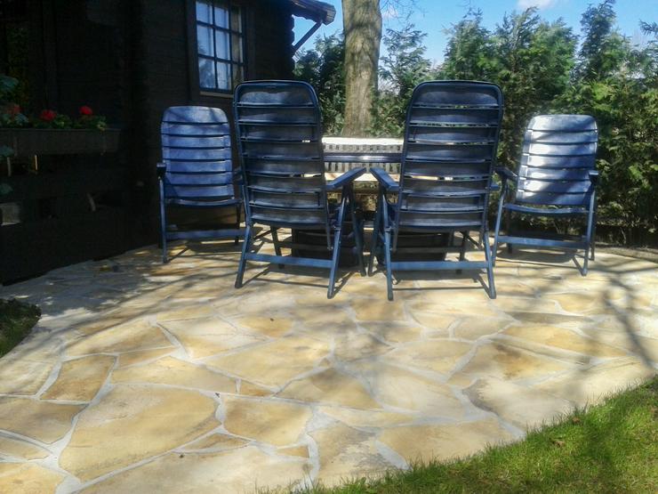 Bild 4: Natursteinplatten, Polygonalplatten Fliesen Terrasse