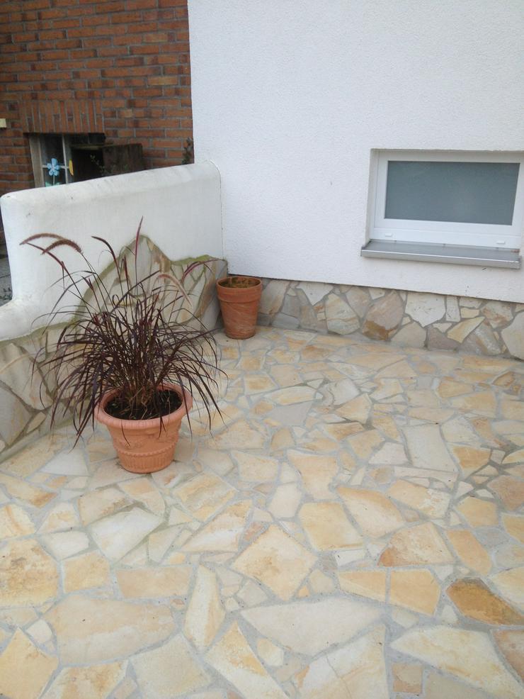 Natursteinplatten, Polygonalplatten Fliesen Terrasse - Pflastersteine - Bild 1