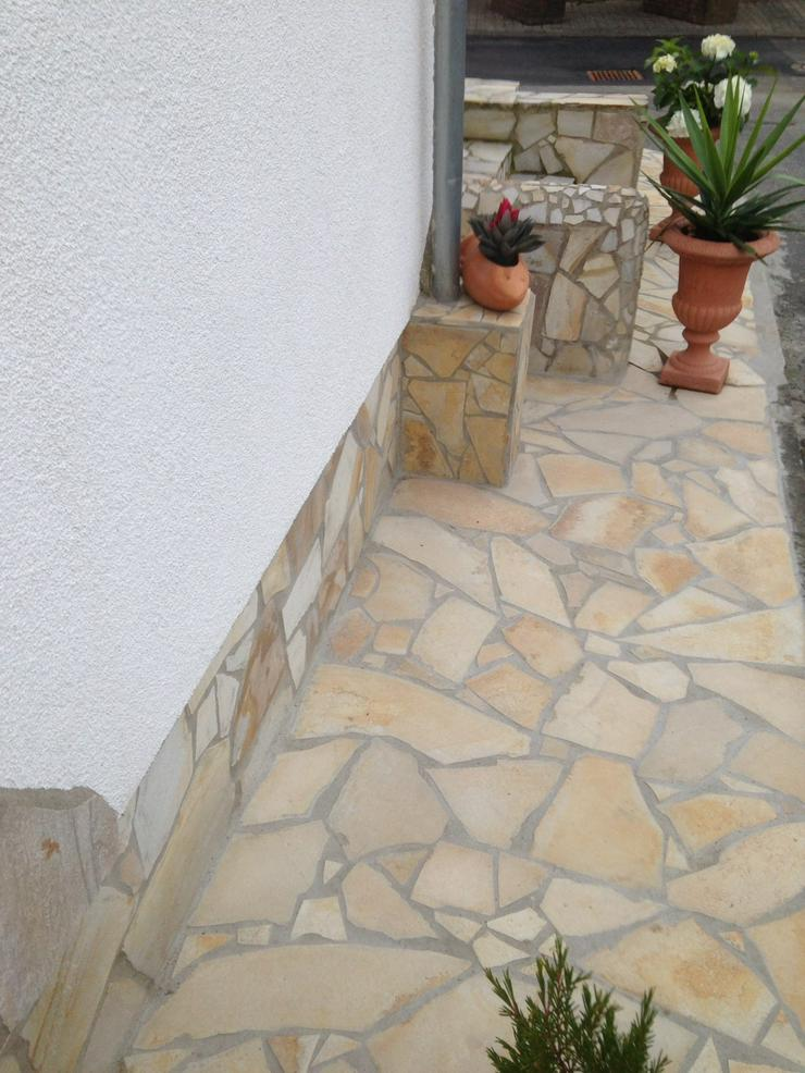 Bild 2: Natursteinplatten, Polygonalplatten Fliesen Terrasse