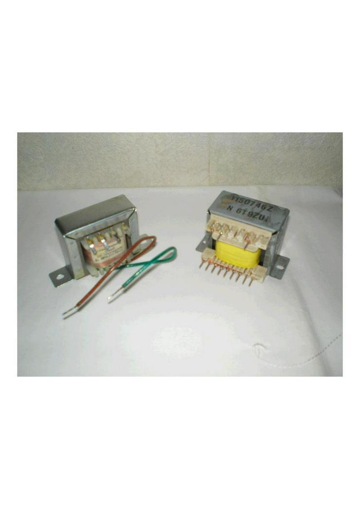 100 Volt Übertrager, Trafos, Wasseraufbereitung, Hochspannungsexperimente
