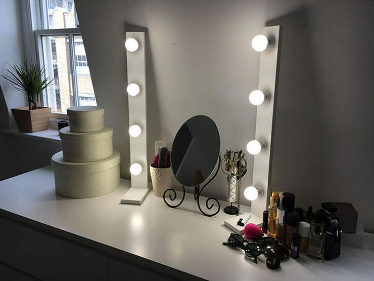 Make Up Spiegel : Draagbare stks spiegel draagbare dubbelzijdige vouwen spiegel