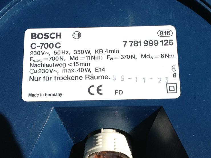 Bild 3: Garagentorantrieb Bosch Modell C-700c