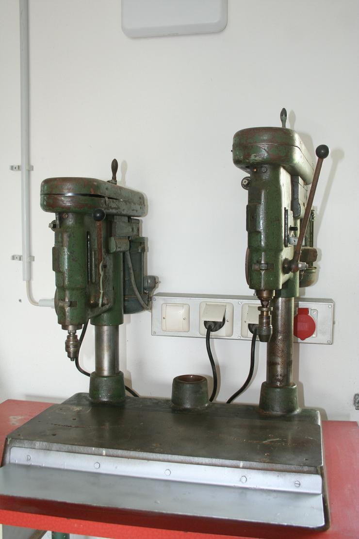 Doppel-Ständerbohrmaschine von Steinel Schwenningen.