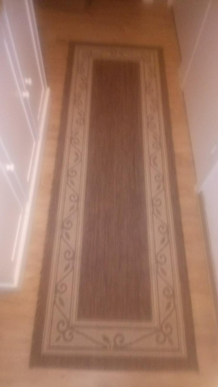 Sehr schöner, Landhausstil-Teppich und Läufer