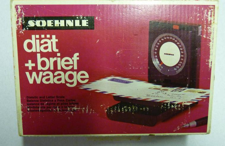 Bild 3: Soehnle Diätwaage Brief Waage Vintage aus den 60er Jahren
