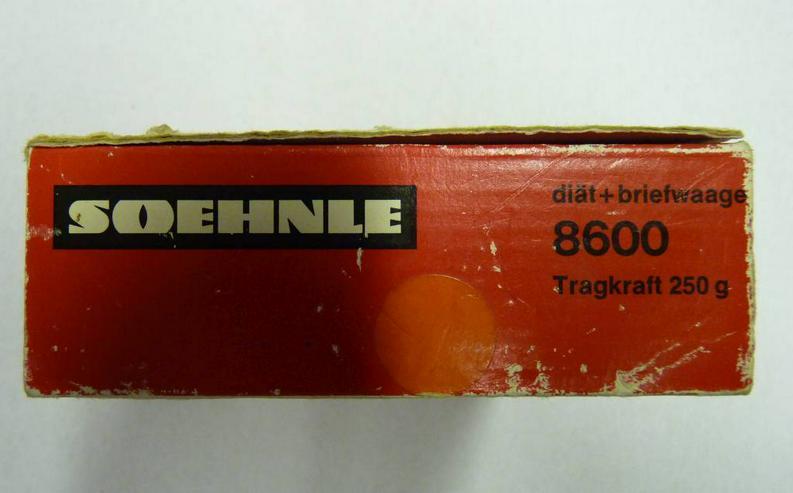 Bild 4: Soehnle Diätwaage Brief Waage Vintage aus den 60er Jahren