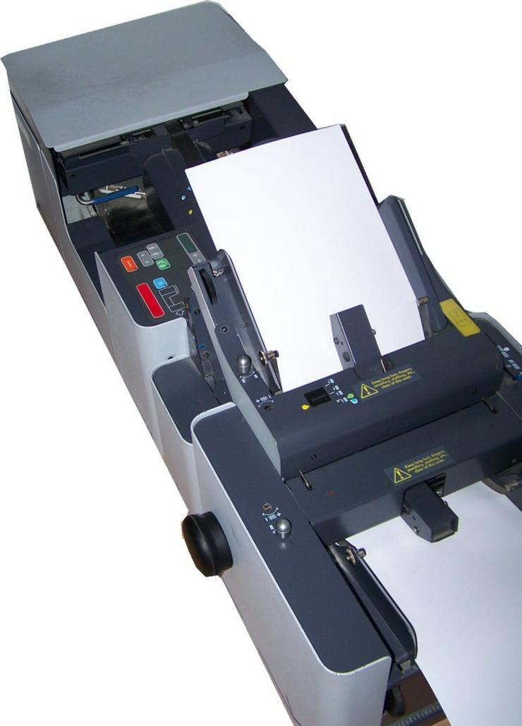Bild 2: Falzmaschine Kuvertiermaschine NEOPOST SI65, Top-Zustand