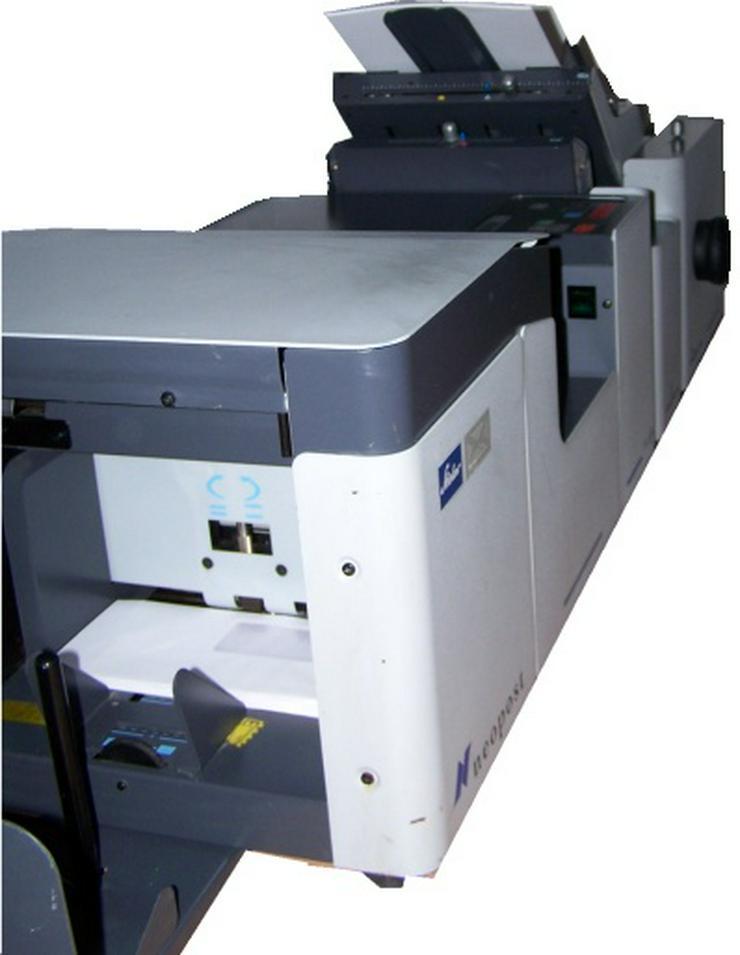 Bild 5: Falzmaschine Kuvertiermaschine NEOPOST SI65, Top-Zustand