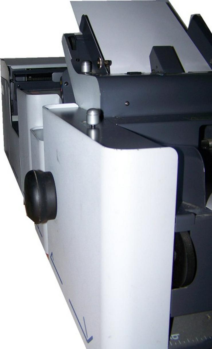 Bild 3: Falzmaschine Kuvertiermaschine NEOPOST SI65, Top-Zustand