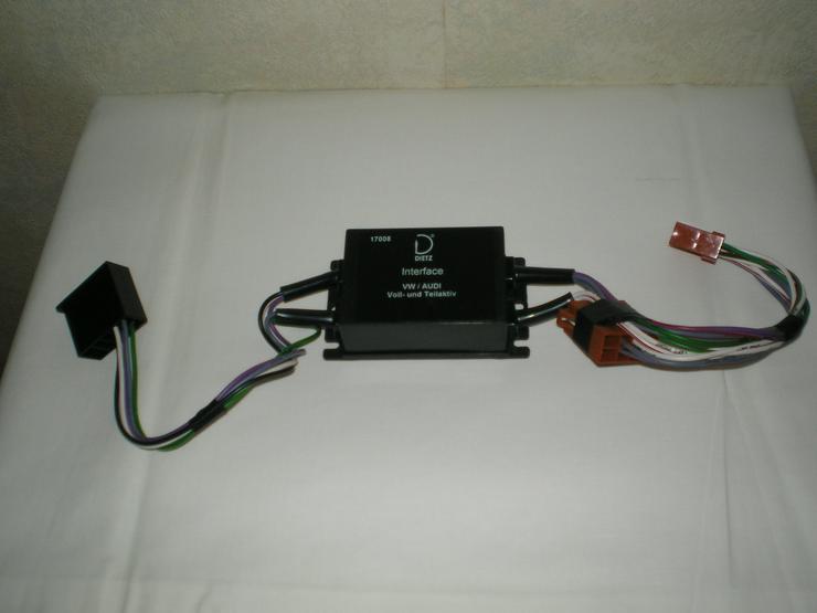 Bild 4: Audi Lautsprecher, Bose Aktiv-LS, Diez Interface