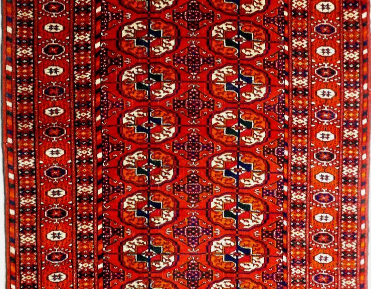 Bild 2: Orientteppich echter Buchara superfein antik (T065)