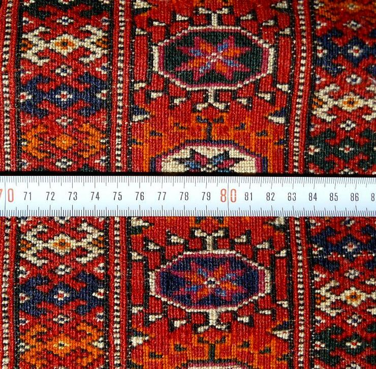 Bild 5: Orientteppich echter Buchara superfein antik (T065)