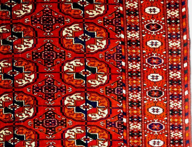 Bild 3: Orientteppich echter Buchara superfein antik (T065)