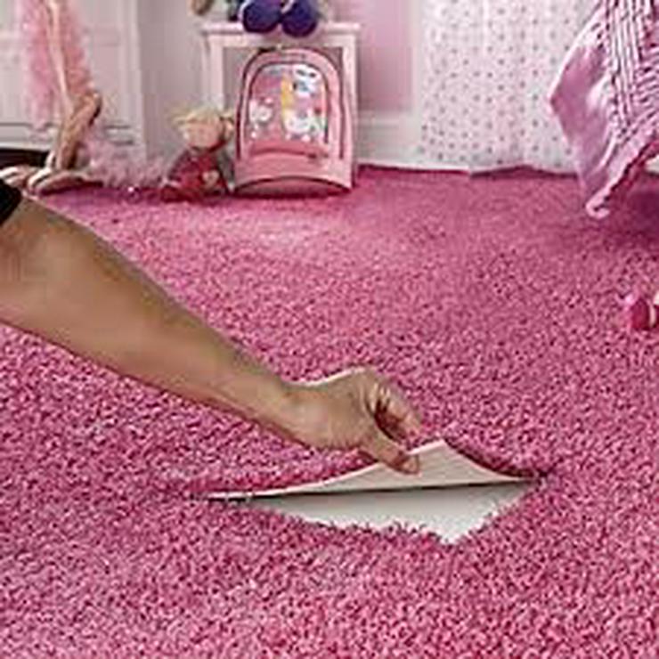 Bild 3: Rosa Heuga 727 Teppichfliesen Kinderzimmer Schlafzimmer