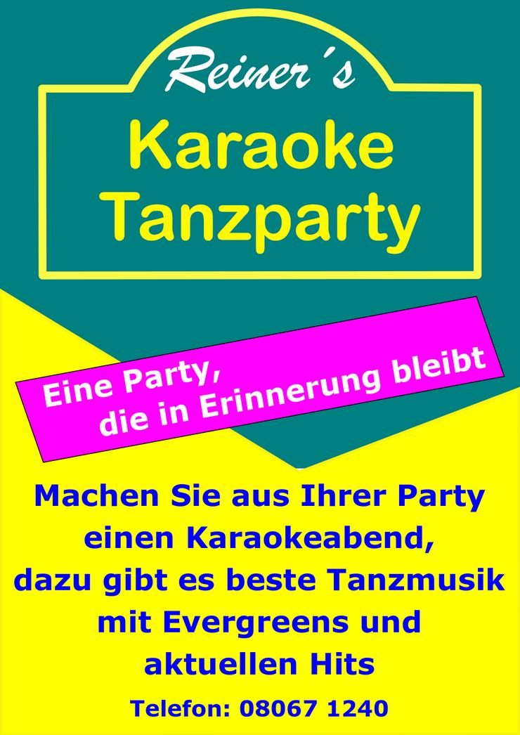 Reiner´s Karaoke Tanzparty - Musik, Foto & Kunst - Bild 1