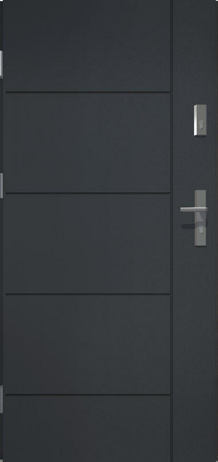 Bild 6:  Tür Prime55 Haustür Eingangstür Stahltür 80/90/100 3 Modelle Wohnungeingangstür