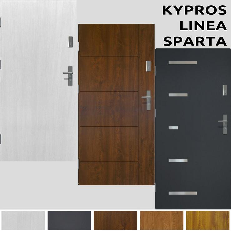 Tür Prime55 Haustür Eingangstür Stahltür 80/90/100 3 Modelle Wohnungeingangstür - Türen - Bild 1