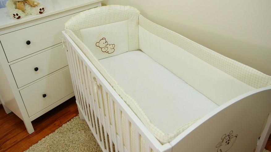 Bettumrandung Bettschlange Nestchen 360x30 Babyzimmer Bettnestchen Knotenkissen - Bettwäsche, Kissen & Decken - Bild 3
