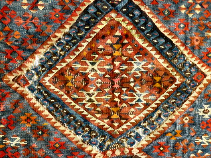 Bild 4: Kelim türkisch antik 227x175 (T069)
