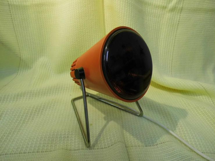 Infrarotlampe Rotlichtlampe Dr. Müller / ca.1970 / Wärmelampe Type G 160