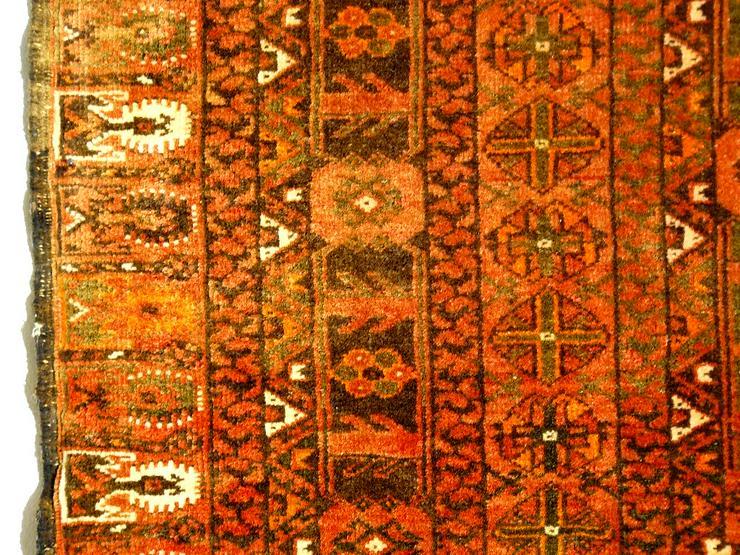 Bild 4: Orientteppich Engsi Hatschlu Salor 18/19 Jhdt. (T070)