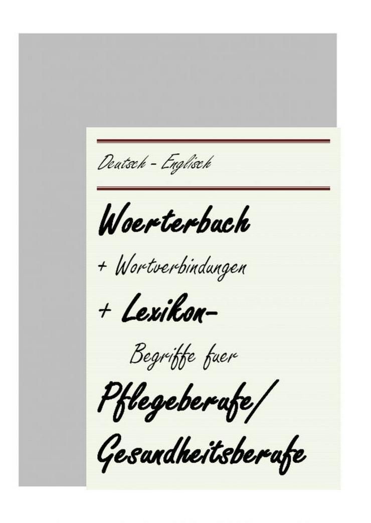 Bild 3: englisch Uebersetzung: Metallbau/ Pflegeberufe/ Produktgestalter-Textil/ Sanitaer-, Heizungs- und Klimatechnik