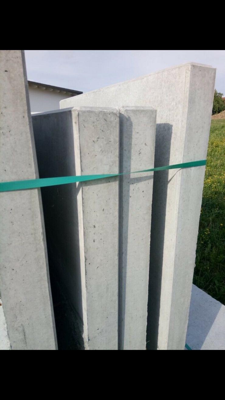 Bild 2: 10 neue L Beton Steine