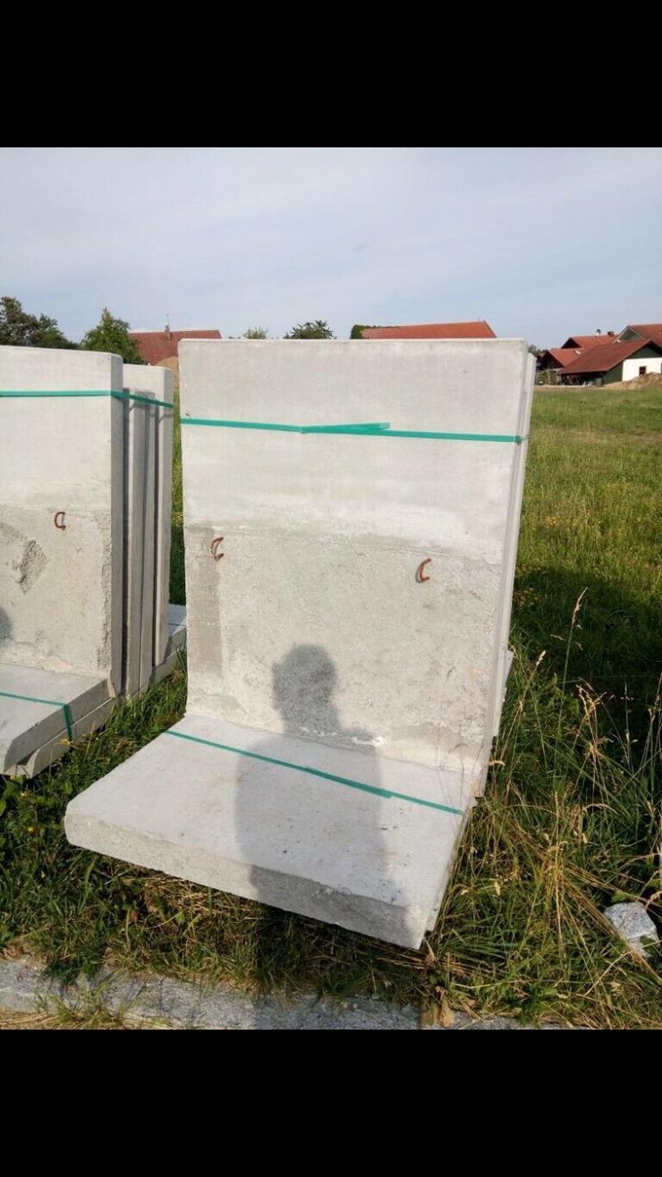 10 neue L Beton Steine