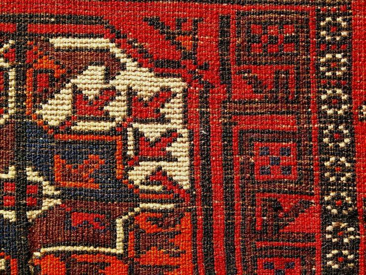 Bild 5: Orientteppich Belutsch antik 186x98 (T072)