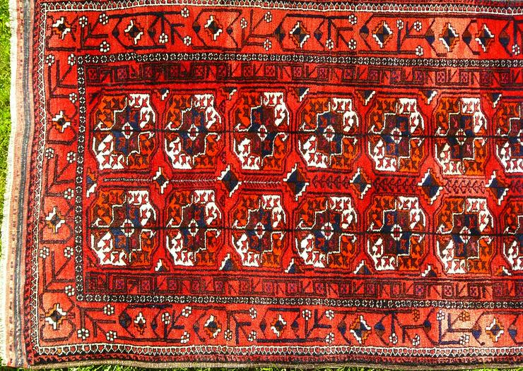 Bild 2: Orientteppich Belutsch antik 186x98 (T072)