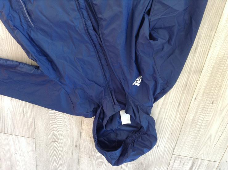Bild 2: Adidas Regenjacke dunkelblau