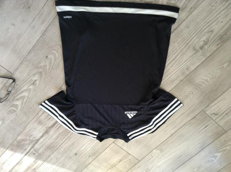 Adidas T-Shirt schwarz - Größen 164-176 - Bild 1
