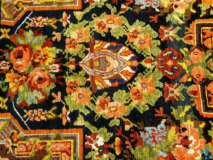 Bild 5: Orientteppich  Senneh 18/19 Jh. (T075)