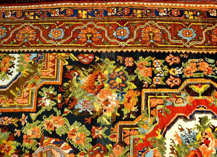 Bild 4: Orientteppich  Senneh 18/19 Jh. (T075)