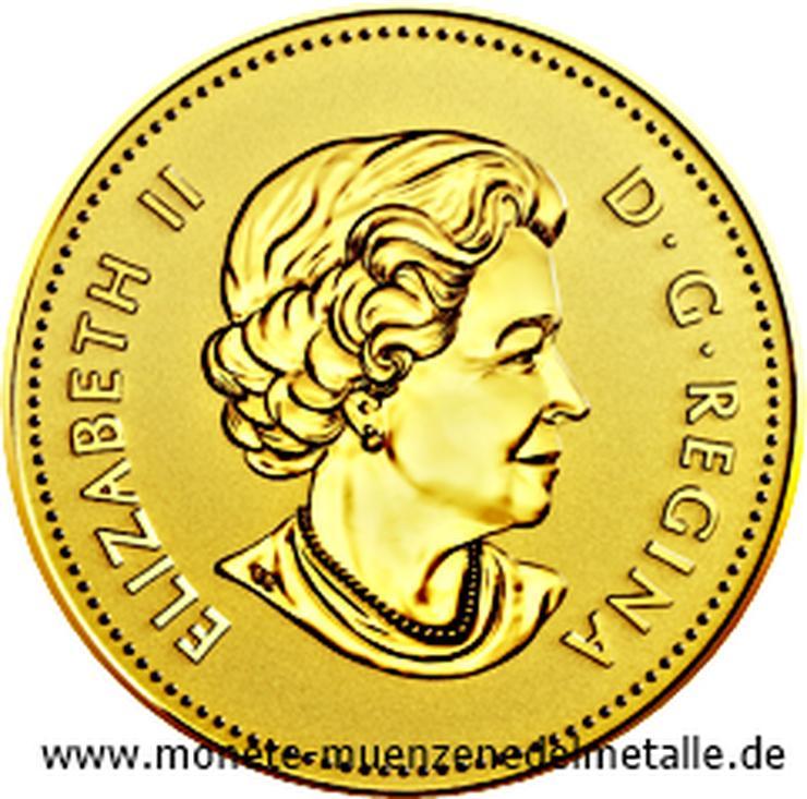 Bild 2: Kanada 25 Cent 40 Geburtstag Mape Leaf 2019 Gold Münze