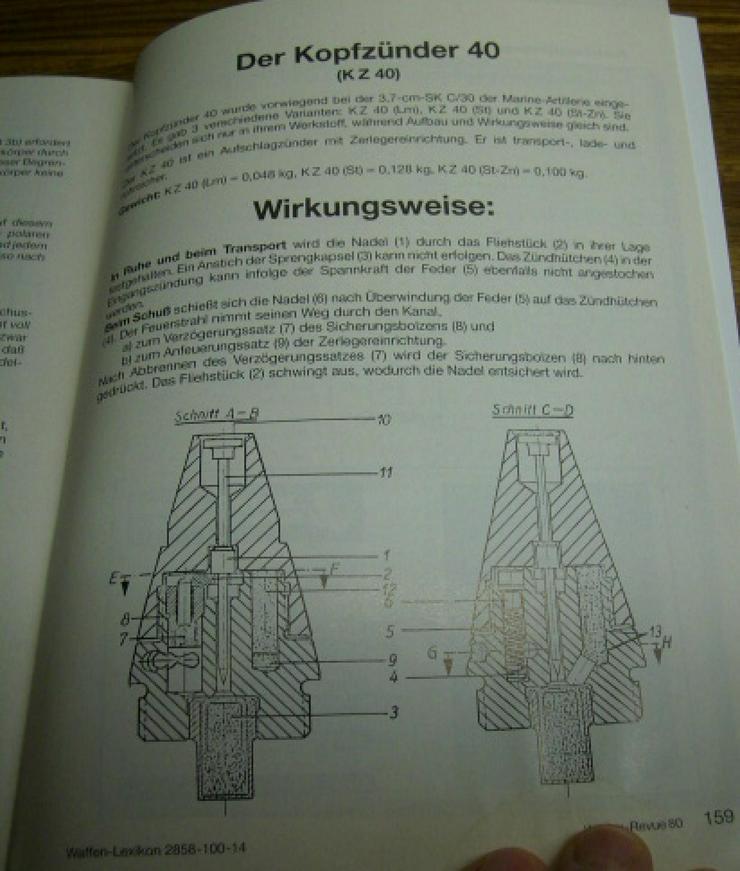 """Bild 15: """"WAFFEN REVUE"""" Nr. 80, viele Artikel, Fotos u. Zeichnungen, Titel-Artikel: U.S.-Karabiner .30 M1 Carabine"""