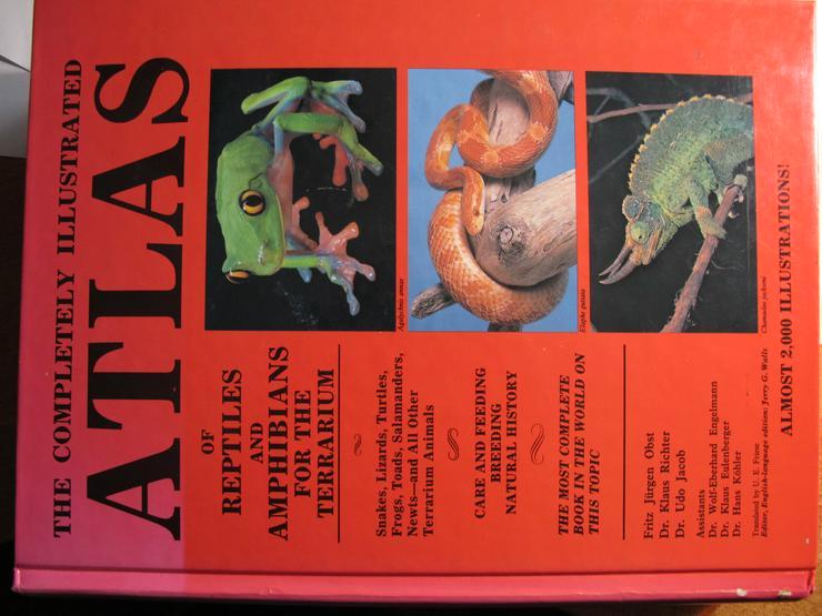 Atlas of Reptiles and Amphibians for thi Terrarium