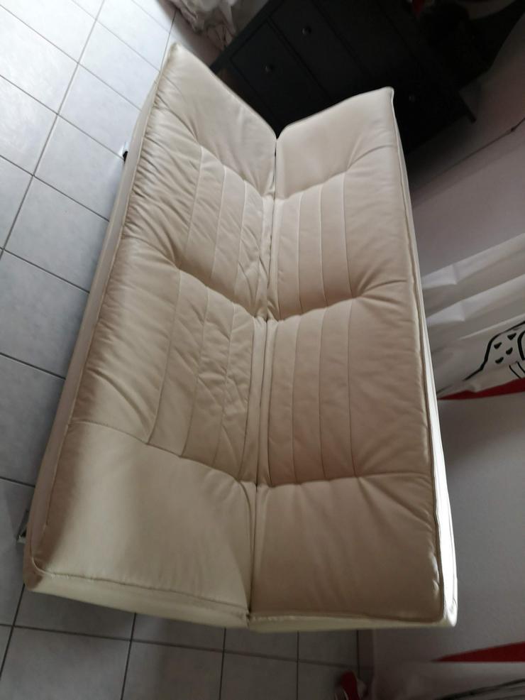 Ledersofa zu verschenken - Sofas & Sitzmöbel - Bild 1