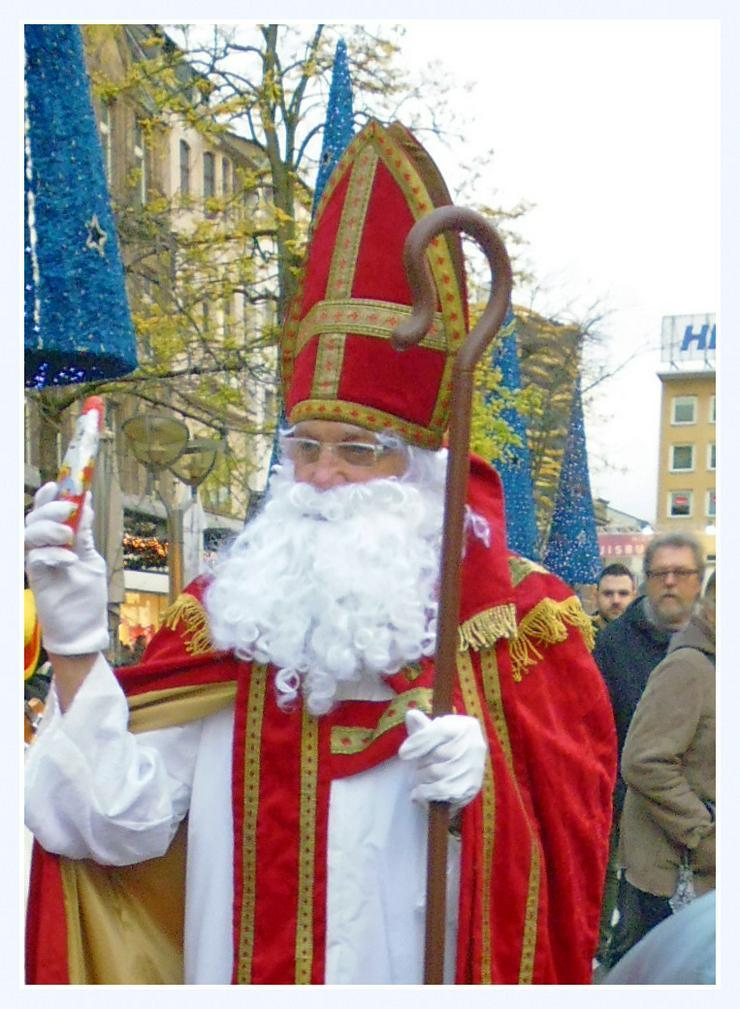 Bild 2: Nikolaus /Weihnachtsmann buchen für Ihre Familienfeier bis zum 24.12 buchen..