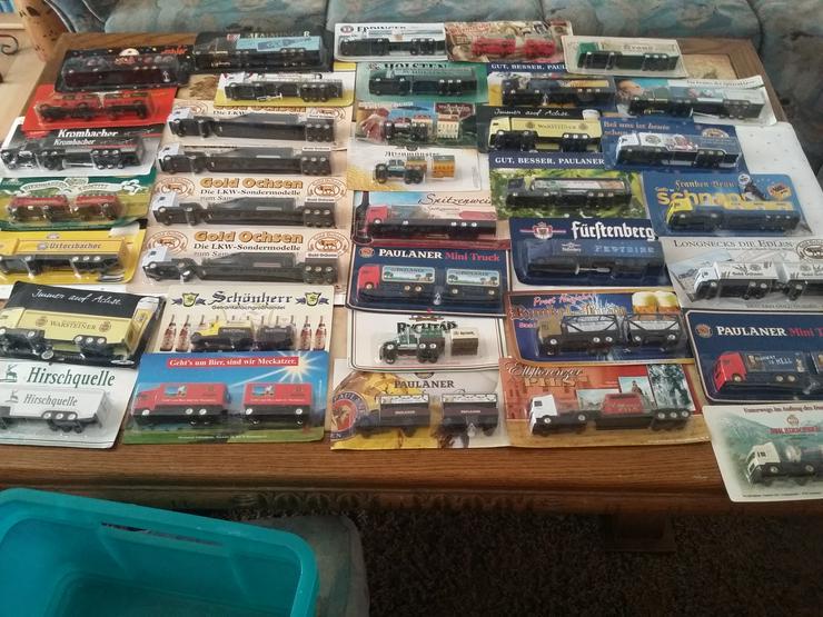 Modell LKW-Sammlung über 100 Stück Originalverpackt - Weitere - Bild 1