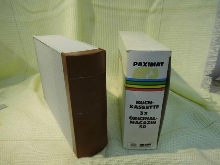 2 Buchmagazine für 150 Dia / Braun Paximat / ohne Kassetten / Originalverpackung
