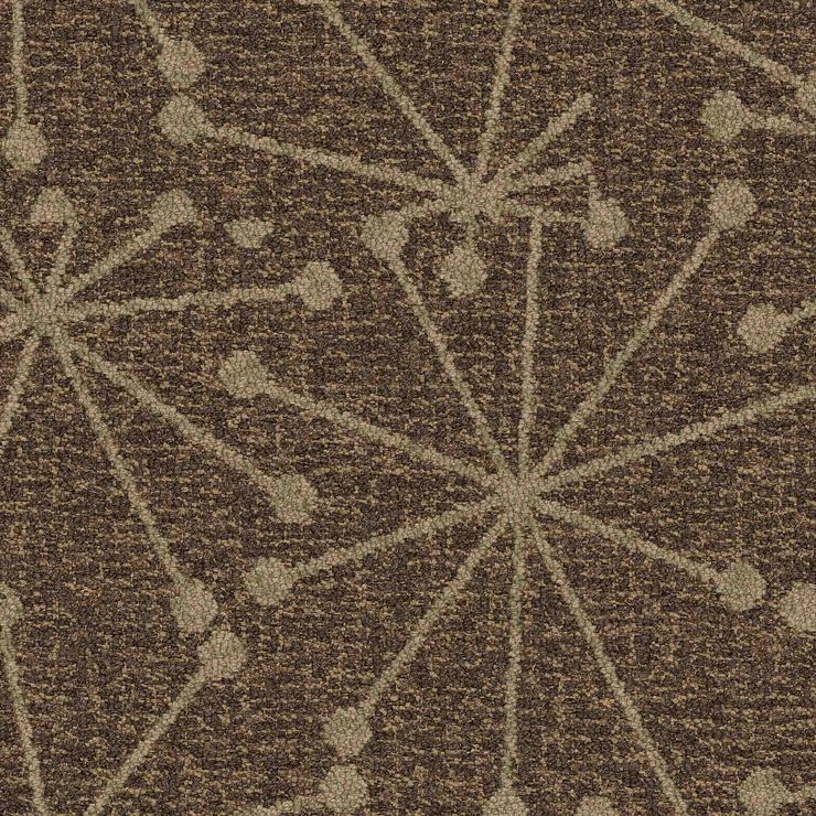 Sehr decorative Interface Teppichfliesen In braunem Farbton