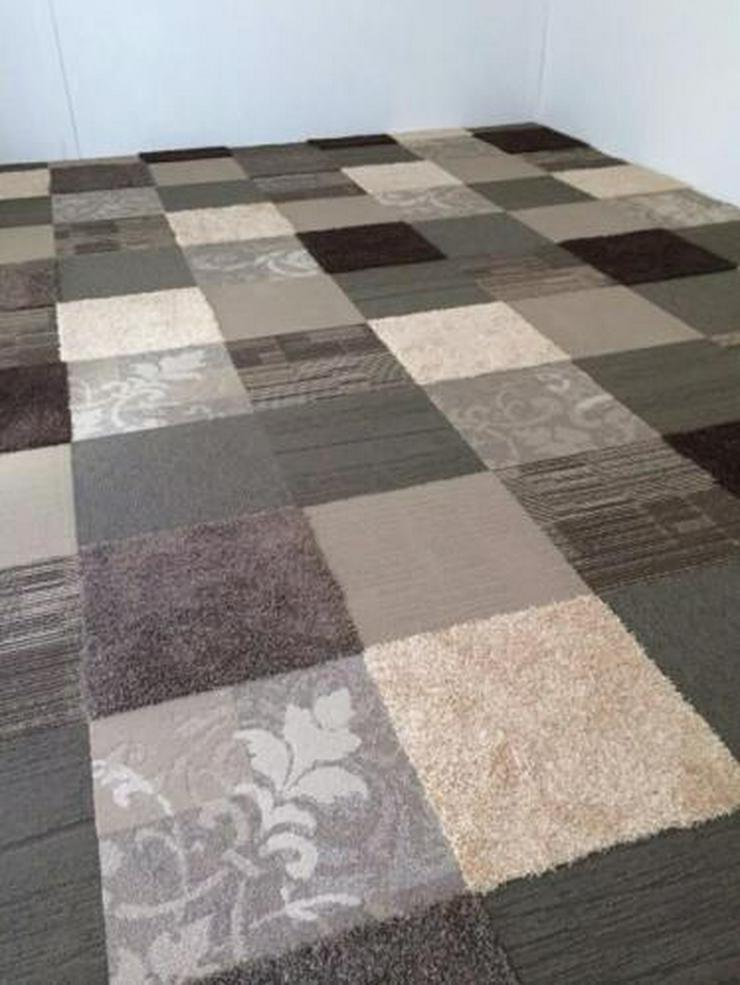 Bild 6: 45,75m2 Vintage - Refine - Gate House Teppichfliesen Teppichboden von Interface