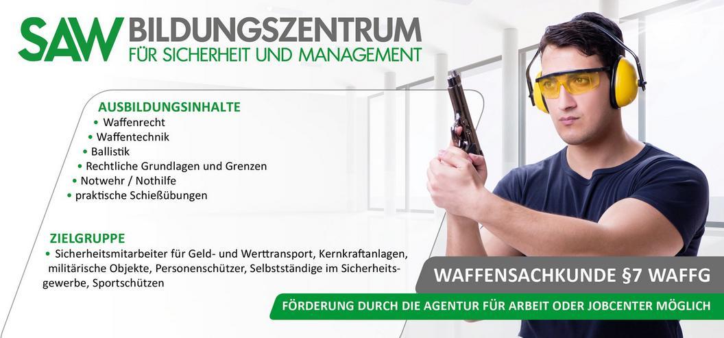 Waffensachkunde § 7 WaffG