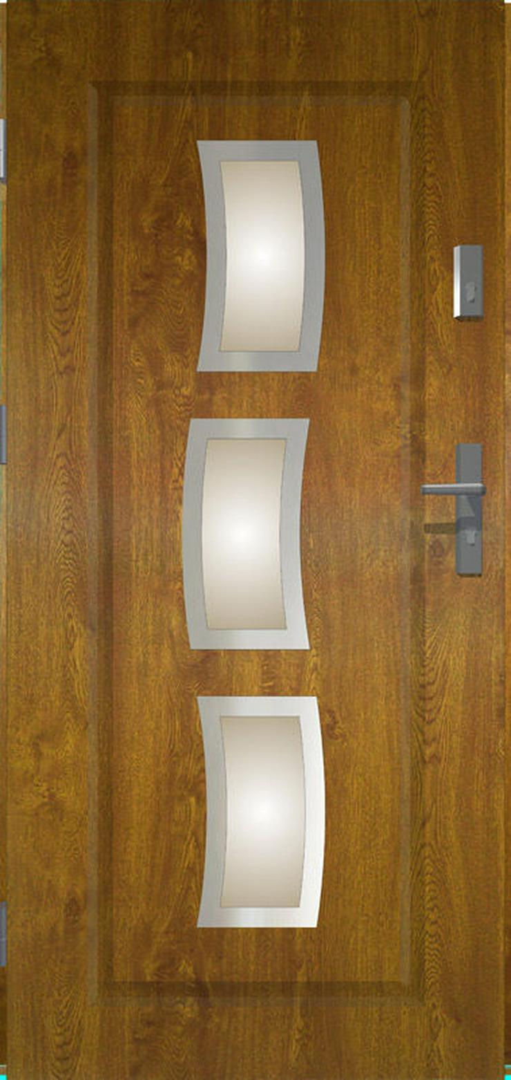 Bild 5: Tür Prime55 Stars Haustür Eingangstür Stahltür 80/90/100 Wohnungeingangstür