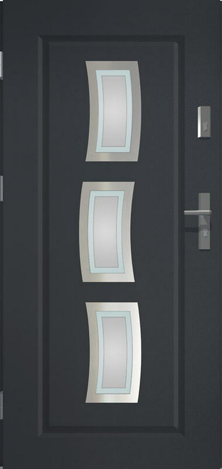 Bild 4: Tür Prime55 Stars Haustür Eingangstür Stahltür 80/90/100 Wohnungeingangstür