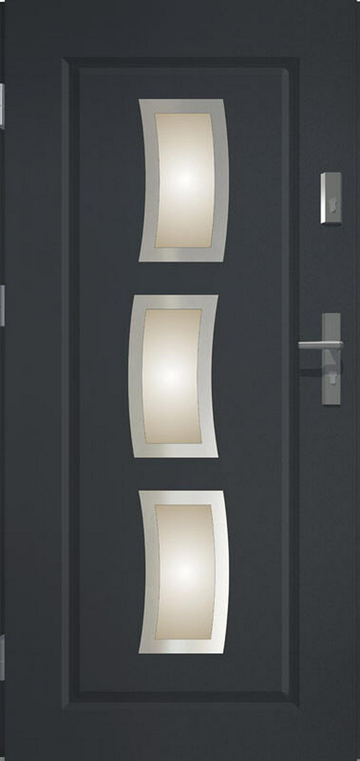 Bild 3: Tür Prime55 Stars Haustür Eingangstür Stahltür 80/90/100 Wohnungeingangstür