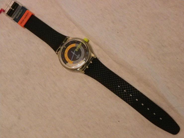 Swatch Stopp-Uhr Coffee Breaker SSK 100 1992 gebrauchter Zustand